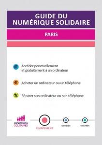 Guide du Numérique Solidaire à Paris Équipement