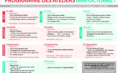 Les ateliers des Permanences Connectées : découvrez le programme !