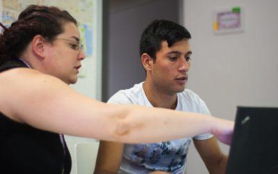 Les ateliers découverte de l'informatique de Connexions Solidaires