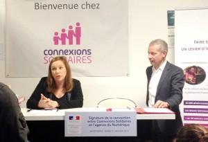 Axelle Lemaire chez Connexions Solidaires