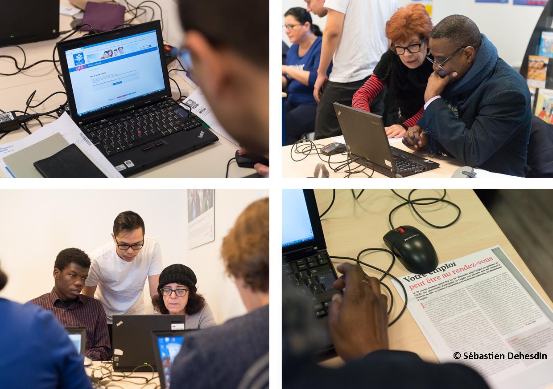 Le numérique clé de la recherche d'emploi : Découvrez les ateliers à Saint-Denis