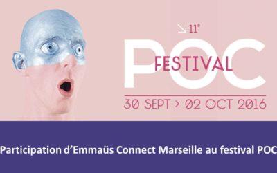 Emmaüs Connect au Festival POC à Marseille