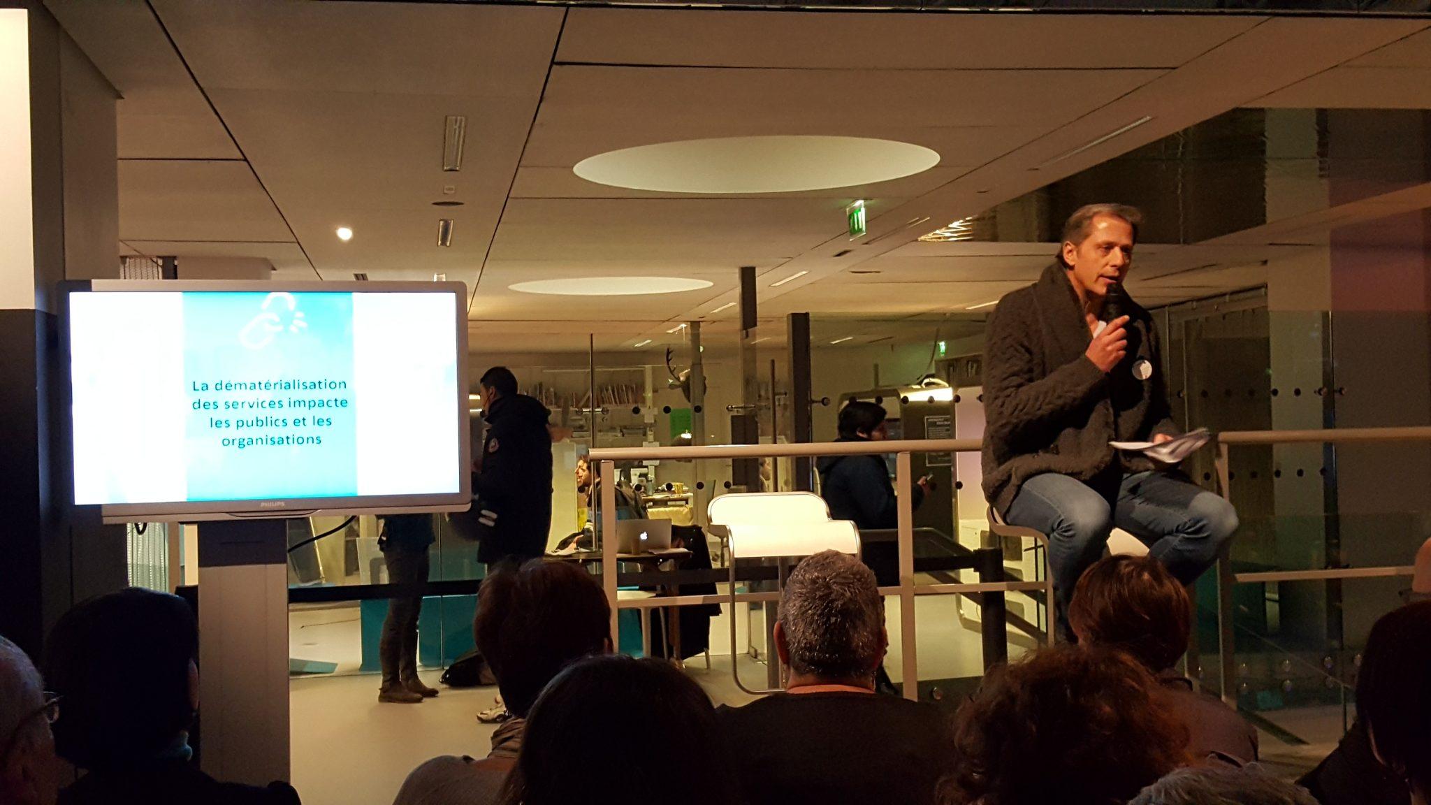 Jean Deydier, directeur de WeTechCare et d'Emmaüs Connect