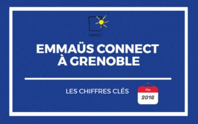 Emmaüs Connect à Grenoble en 2016