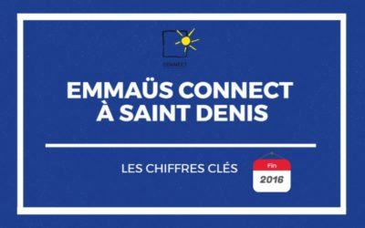 Emmaüs Connect à Saint-Denis en 2016