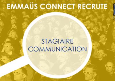 Stage : Bras droit Communication- Paris