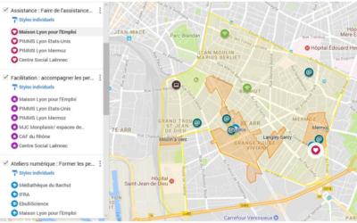 Cartographie des acteurs du numérique lyonnais
