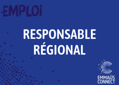 Responsable Régional Adjoint.e (H/F) – Emmaüs Connect Grand Est