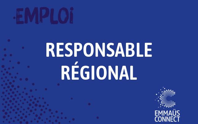 Offre d'emploi – H/F Responsable régional Provence-Alpes-Côte d'Azur