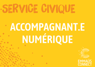 Service Civique Saint-Denis : Accompagnant numérique