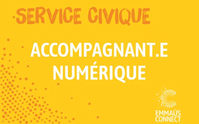 Service Civique Roubaix – Accompagnant numérique solidaire