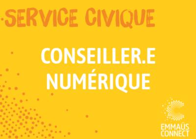 Service Civique Lille: Conseiller Numérique Solidaire
