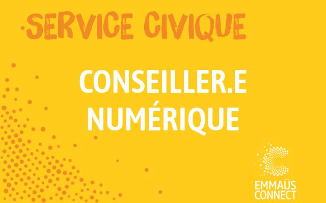 Service Civique Saint Denis: Conseiller Numérique Solidaire