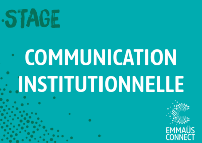 Stage Communication institutionnelle – Paris