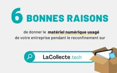 Stop au gâchis numérique : Emmaüs Connect lance LaCollecte.tech