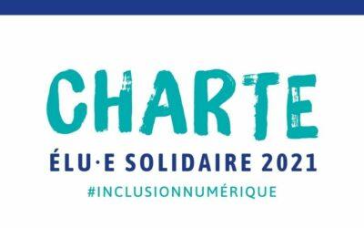 Les nouveaux élus locaux signent notre charte Elu.e solidaire